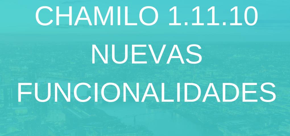 Nuevas funcionalidades 1.11.10